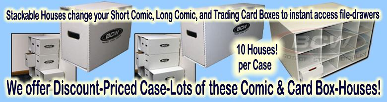 Click here to visit the COMIC & MAGAZINE COLLECTOR SUPPLIES: BOXES-BINDERS-PAGES section of our eBay Store
